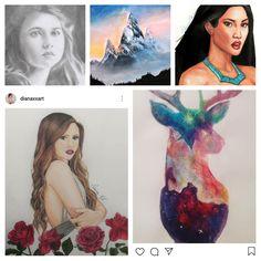 вy dιana cнιreѕcυ 🄰🅁🅃 🄿🅁🄾🄵🄸🄻🄴 Diana, Disney Characters, Fictional Characters, My Arts, Profile, Photo And Video, Disney Princess, Instagram, User Profile