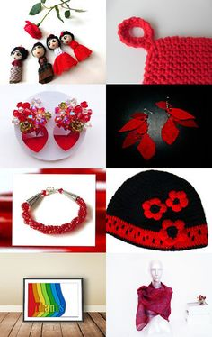 Red Hots by Julie on Etsy--Pinned with TreasuryPin.com