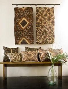 Navajo Rug As A Wall Hanging Creates A Lot Of Visual