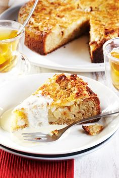 Omena-mantelikakku | Tortut ja piirakat | Pirkka