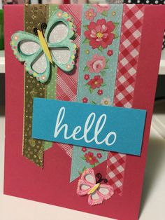 Scraps, DIY cards, homemade, embellishments, washi tape