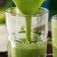 Smoothie Recipes – Menus for Life Kiwi Smoothie, Detox Smoothie Recipes, Green Detox Smoothie, Coconut Smoothie, Easy Smoothies, Strawberry Smoothie, Weight Loss Smoothies, Juicer Recipes, Smoothie Cleanse