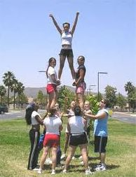 Learn cheerleading vocabulary here <3