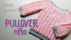 Tutorial: Pullover en punto puff para niñas y adultos – Paso a Paso Crochet