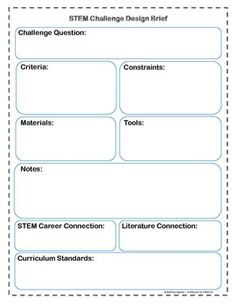 Stem in progress on pinterest engineering stem for House design brief template for architect