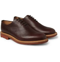 0ad019663855 Mark McNairy Full-Grain One-Piece Leather Oxford Shoes M. Porter
