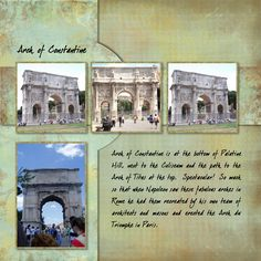 Rome - Arch of Constantine - Pg 12