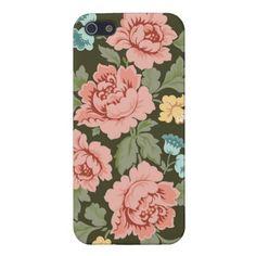 Victorian Roses Design iPhone Case iPhone 5 Case