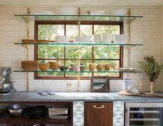Image result for kitchen window framing shelf