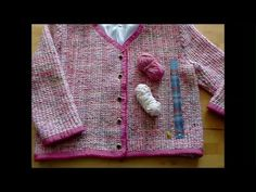 Chanel-Jacke selbst stricken - knitt your own Chanel jacket - tricoter l...