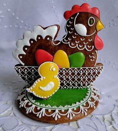 Easter Cookies, Fun Cookies, Paint Cookies, Biscuits, Easter Recipes, Happy Easter, Gingerbread, Artisan, Food And Drink