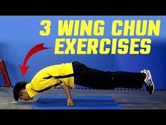 3 BEST Wing Chun Workout & Training Exercises - YouTube