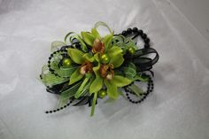 Prom Wrist Corsage made by:  Gallery Florist and Gifts, Inc., Mebane, NC. www.galleryfloristandgifts.com