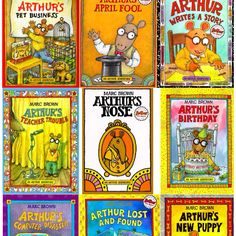 Arthur books were so popular between me and my sister. We had the picture books, the small novels and watched the television show habitually.
