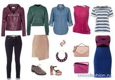 Яркий гамин разбор типажа внешности по системе Кибби и капсула одежды