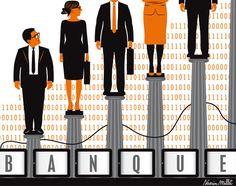 Les principales banques françaises prévoient d'embaucher entre 8 100 et 12 000 CDI en 2017