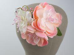 Fabric flower / bridal hair clip from Lola White by DaWanda.com