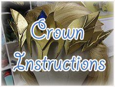 How to make Princess Zelda Armor : Crown » Firefly Path