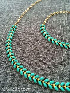 DIY collier épi - Bijoux - La Cabane à perles