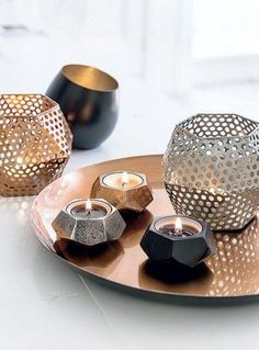 27 Best Color Metallic Home Decor Images In 2014 Little