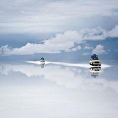 Salt Desert at Uyuni, Bolivia