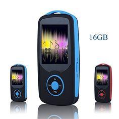 FecPecu 16GB Bluetooth MP3 Player