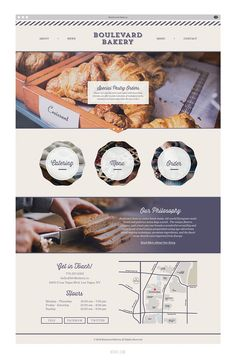 Noirve | New Work: Boulevard Bakery