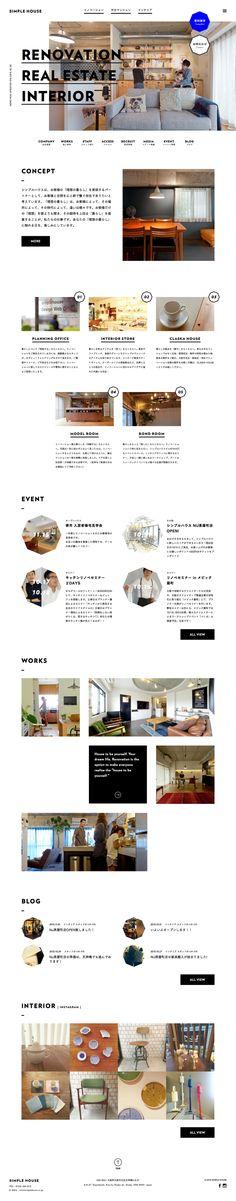 日式清新簡單網頁設計 | MyDesy 淘靈感