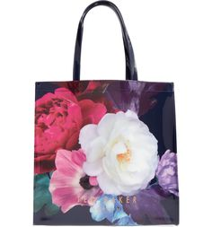 e0fcd7eebcb93 Main Image - Ted Baker London Blushing Bouquet Large Icon Tote Ted Baker  Totes