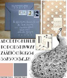 gorgeous art decogatsby invitation suite inspiration board art deco inspired pinterest