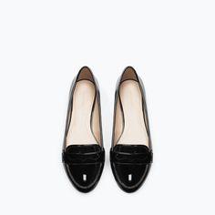 MOCCASIN - Shoes - Woman - SHOES & BAGS | ZARA Bosnia and Herzegovina