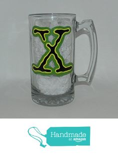 X-Files beer mug from Custom Creations by Danielle LLC https://www.amazon.com/dp/B0163KM9TA/ref=hnd_sw_r_pi_dp_xMiVyb7Y0M7R6 #handmadeatamazon