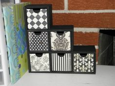 snazzy little decor boxes