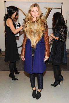 Olivia Palermo at New York Fashion Week: Diane Von Furstenberg
