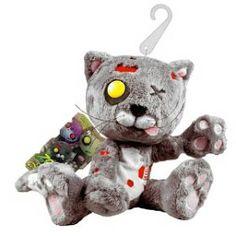 "Goth Shopaholic: Zombie ""Creepy Cuddlers"" Plush Toys by Mezco"