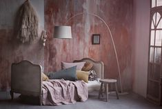 Gorgeous pink wall