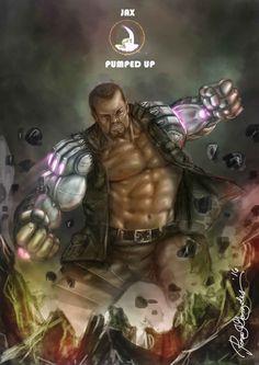 Mortal Kombat X Jax-Pumped UP by Grapiqkad on DeviantArt