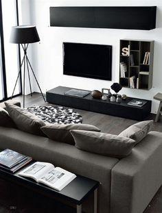 awesome 74 Modern Minimalist Master Living Room Interior Design https://wartaku.net/2017/03/27/49-minimalist-master-living-room-home-decor-ideas/