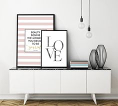 ## Classic Love Printable, Watercolor Black Print, Love Wall Art, Love Print ##  You are searching for the perfect decoration touch to any home ? Or you are simply searching for an original Gift for your love ? This is the perfect idea ! This Printable Art is a contemporary downloadable print featuring watercolor black LOVE word.