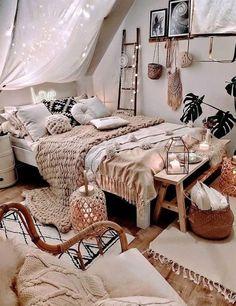 Room Decor, Bedroom Makeover, Girl Bedroom Decor, Bedroom Decor, Boho Bedroom Design, Room Makeover, Bedroom Inspirations, Bedroom Design, Room Inspiration Bedroom