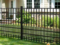 Lowes Black Aluminum Fence Home Design - Interior Home Decor