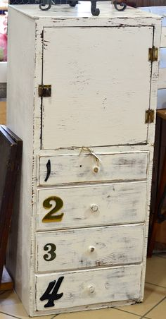 Numbered Cabinet