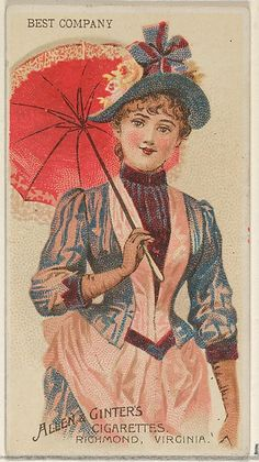 Allen & Ginter   Best Company, from the Parasol Drills series (N18) for Allen & Ginter Cigarettes Brands   The Met