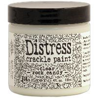 Tim Holtz Distress Crackle Paint 4oz - Rock Candy for Scrapbooks, Cards, & Crafting found at fotobella.com