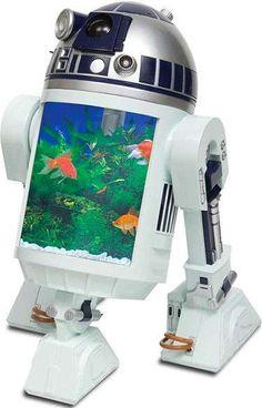 The R2D2 Fish Tank #starwars trendhunter.com