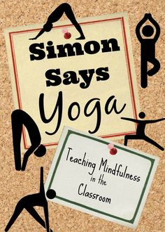 "Kids Health Hyperactive children benefit from practicing yoga, but many will say yoga is ""dumb"" and refuse. Read more about teaching kids yoga poses using Simon Says! Teaching Mindfulness, Mindfulness For Kids, Mindfulness Activities, Meditation Kids, Yin Yoga, Hatha Yoga, Kids Yoga Poses, Yoga For Kids, Yoga And More"
