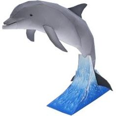 Paperized Crafts Bottlenose dolphins, the genus Tursiops, are the most common and well-known members of the family Delphinidae, the family of oceanic dolphin. Bottlenose dolphins live in groups typically of members, called pods Cardboard Animals, Paper Animals, 3d Paper Crafts, Paper Toys, Manta Animal, Dolphin Craft, Grand Dauphin, Papercraft Download, Bottlenose Dolphin