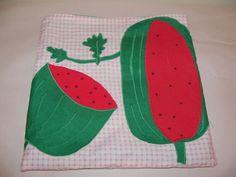 "Watermelon XL Guinea Pig Pouch Bag Cozy Bed Snuggle Ferret Sleep 11"" x 11'' #Homemade"