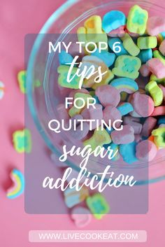 My Top 6 Tips For Quitting Sugar Addiction. Pin Now 2 View Later. Pain relief, pain relief tea, pain relief essential oils, pain relief exercises, pain relief remedies.