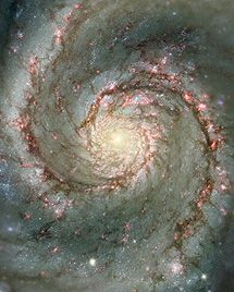 March 2013 The Whirlpool Galaxy a classic spiral galaxy, also known as NGC It is about 30 million light-years away from Earth and some light-years across. Hubble Space Telescope / NASA via European Pressphoto Agency Cosmos, Hubble Space Telescope, Space And Astronomy, Telescope Images, Space Planets, Stars Night, You Are My Moon, Spiral Galaxy, Whirlpool Galaxy